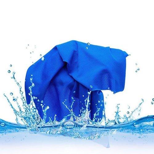 P12cheng Toalla de Mano refrigerante, Magic Rapid Cooling Towel rápido abkühlendes Daunentuch para Gym Outdoor Sports Fitness