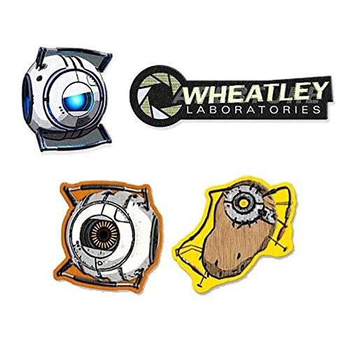Portal Collectible Patch Gift Set of 4