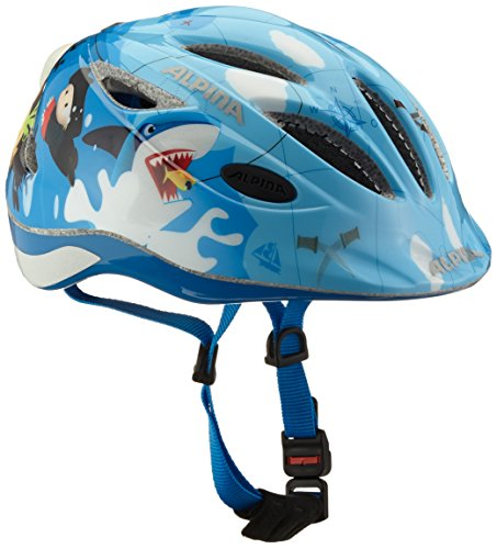 ALPINA GAMMA 2.0 FLASH Fahrradhelm, Kinder, pirate, 46-51