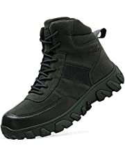 [VITIKE] ミリタリー ブーツ メンズ タクティカルブーツ 軽量 登山靴 防滑 トレッキングシューズ レディース ハイキングシューズ ハイカット 大きいサイズ 24.5cm-28.5cm