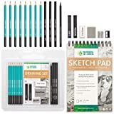 Best Charcoal Pencils - Drawing Set - Sketching and Charcoal Pencils Review