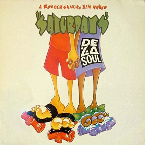 A roller skating jam named 'Saturdays' (Disco Fever/Radio Home/6:00 AM Mixes, 1991) / Vinyl Maxi Single [Vinyl 12'']