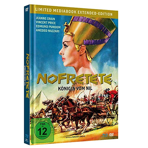 Nofretete - Königin vom Nil - Extended-Edition (Limited Mediabook, Blu-ray+DVD, in HD neu abgetastet)