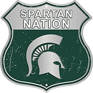 HangTime Spartan Nation - Michigan State Route Sign