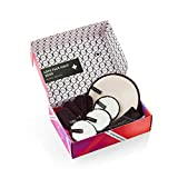 Face Halo | Reusable Makeup Remover Pads, Rounded Makeup Remover Pads for Heavy Makeup - Microfiber Makeup Remover Wipes for Under Eye Mascara, Eye Shadow, Foundation (XO Gift Box)