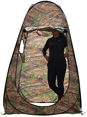 KCGNBQING Tragbares Sichtschutz-Zelt für den Außenbereich, Pop-Up-Zelt, Raum, Camping, Dusche, Toilette, Unterstand, Strand, Park, Umkleidezelt, Cabana-Sichtraum