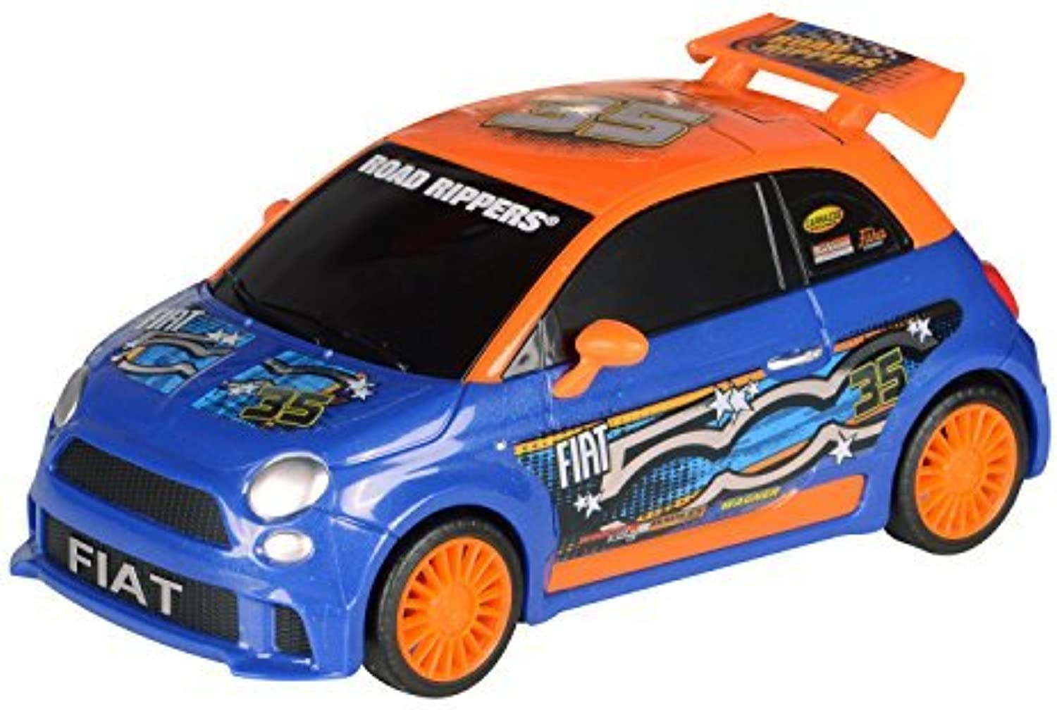 Toystate Road Rippers Light and Sound Hatchbacks Fiat 500 by Toystate