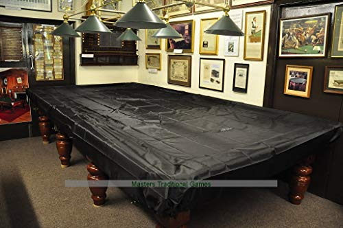 Peradon Fitted Table Dust Cover for 12 Foot Snooker Table