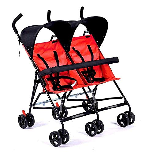 Why Choose YTPB Comfortable and Durable Stroller and Stroller Twin Ultra, Side-by-Side Twin seat, Fo...