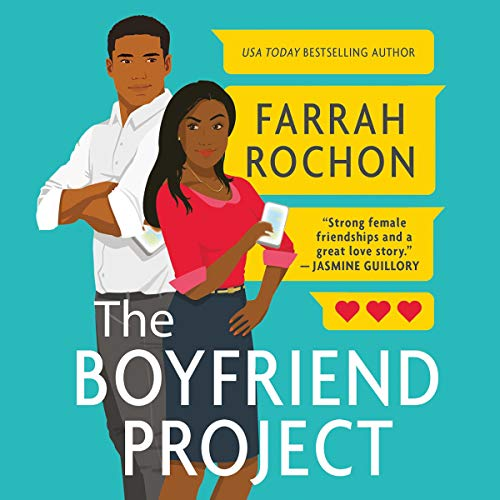 The Boyfriend Project audiobook cover art