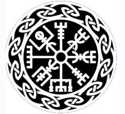 MAMA STICKER Bumper White Vegvisir Viking Norse Rune Talisman Amulet Odin Halloween Tattoo Decal Symbol Sign Helmet Motorcycle Luggage Laptop Notebook Back Truck Water Bottle Window Scrapbook Gift