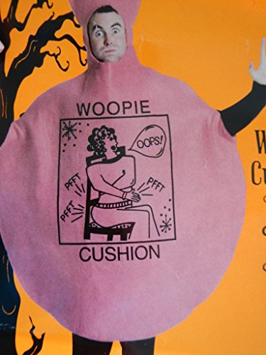 Adult Unisex Whacky Whoopie Cushion Costume Outfit for Joke Themed Fancy Dress