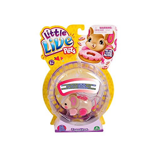 Giochi Preziosi- Little Live Pets Topolitos Serie 2, Multicolore, LPT05000
