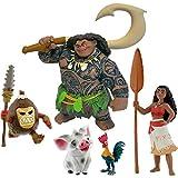 Vaiana Moana Bullyland 5 cifras - 13185 Vaiana - 13186/2 Dios Maui,...