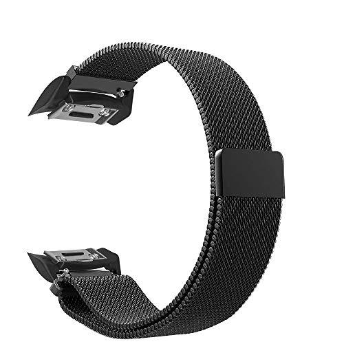 DFKai1run Correa de Acero Inoxidable, Bandas Bucle De La Correa De Acero Inoxidable Magnético De Cierre De Broche Se Divierte La Venda Compatibles SM-R720 / R730 SM-Reloj Smart Watch Deportes de Moda