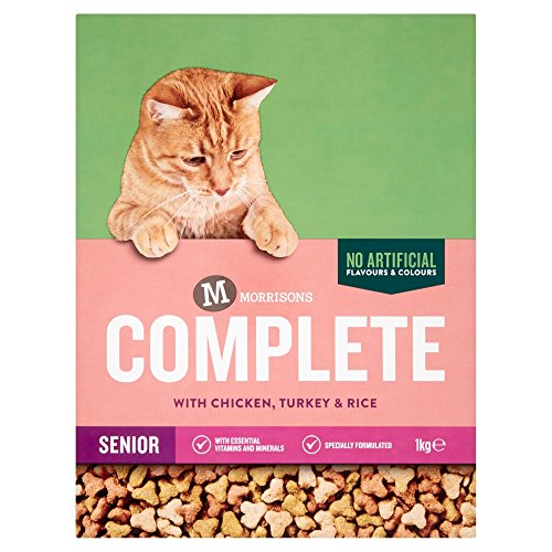 Morrisons Complete Senior Cat with Chicken Turkey and Rice,  1 kg