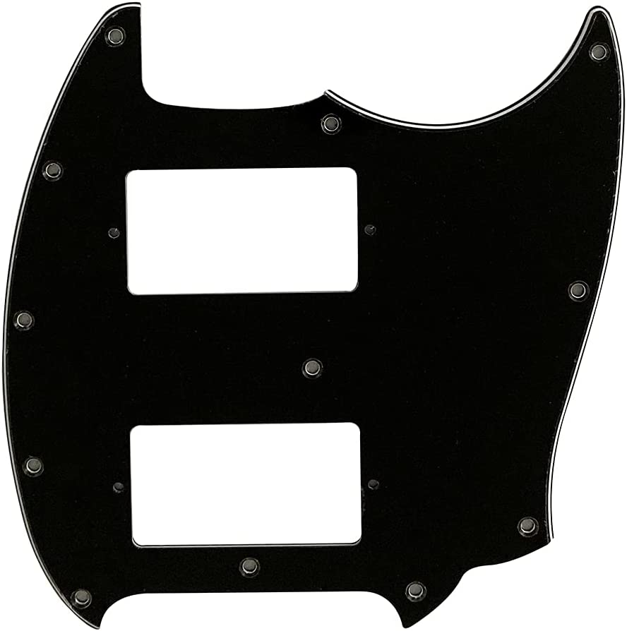 Electric Guitar Pickguard For Fender High quality Mustang With PAF Super special price Humbucker