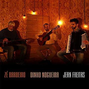 Jean Freitas, Zé Barbeiro e Dinho Nogueira