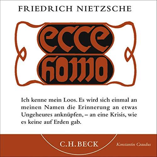 Ecce homo cover art
