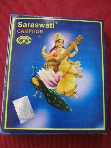 Artcollectibles India Saraswati Lot de 5 x 100 tablettes de camphre pur et d'origine, kapoor pour puja hindoue/rites religieux havan/Diwai puja Aarti
