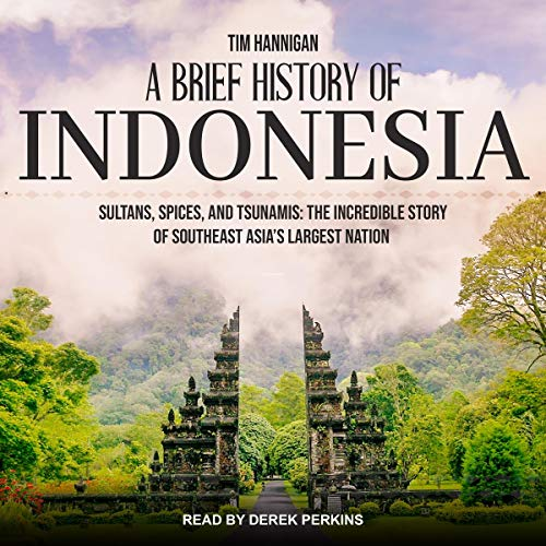 『A Brief History of Indonesia』のカバーアート