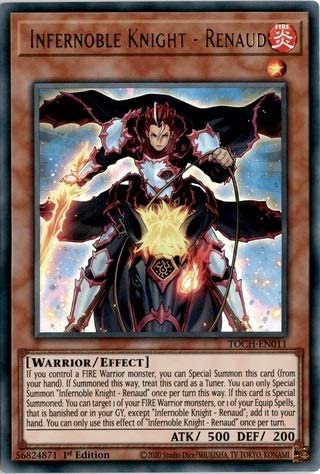 ROTD-EN015 1st Edition 3 x Infernoble Knight Maugis - Common