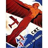 Bumblebeaver Propaganda WAR Spanish Civil Republican CNT