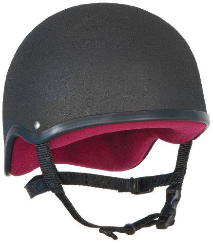 Champion Jockey-Kappe Pro Plus schwarz schwarz Size 3