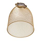 Rustic State Industrial Retro Style Mesh Wire Cage for Pendant Ceiling Lamp...