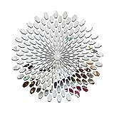Aiming Espejo Grupo 3D Etiqueta de la Pared de acrílico Espejo Adhesivos de Habitaciones DIY la decoración del hogar del Papel Pintado