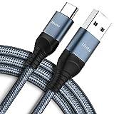 Câble USB C Mkeke - Câble USB de Type C - Charge Rapide - Lot de 3 - Chargeur USB A vers Type C -...