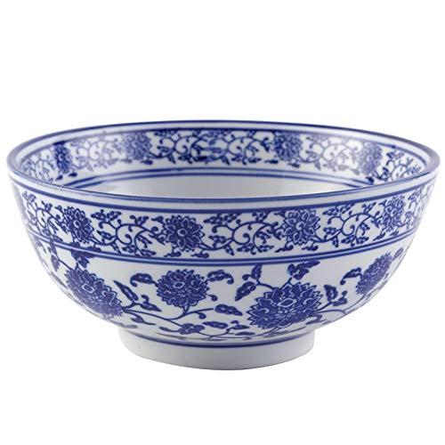 Nudelschale Retro Schüssel Chinesische Blaue Und Weiße Porzellanschale Instant Nudelschale Ramen Bowl Wonton Bowl