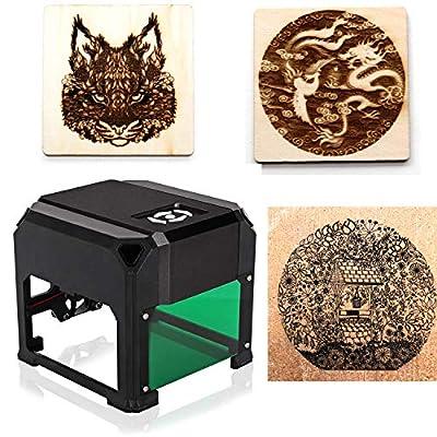 laser engraving machine Laser Engraver Printer 3000mW Mini desktop laser engraver machine DIY Logo laser engraver