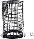 Cubierta cuadrada para lámpara antiquemaduras, para calentar, protección contra reptiles