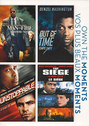 Man On Fire / Out Of Time / Unstoppable / The Siege (Own the Moments)