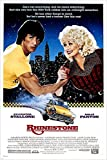 Dolly Parton Sylvester Stallone Strass Film Poster 24 x