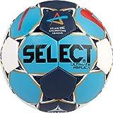 SELECT Ultimate Replica Ballon de handball  I Blanc/Bleu/rouge I lilleput(1)