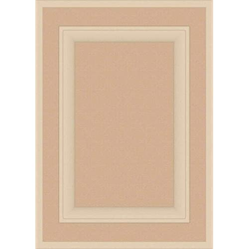 Square with Raised Panel 28H x 15W Kendor Unfinished MDF Cabinet Door