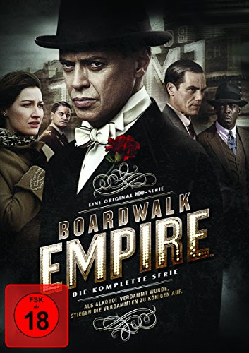 Boardwalk Empire Komplettbox (inkl. Bonusdisc) [Limited Edition] [23 DVDs] (exklusiv bei Amazon.de)