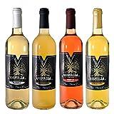Valhalla Hidromiel Surtido de 4 Botellas de Hidromiel | Surtido Sabores Valhalla Clásica, Tradicional, Doble Miel y Freyja. Bebida Ecológica. Botellines de 75cl