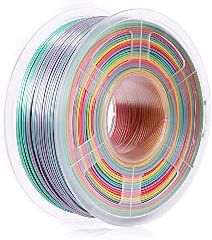 SUNLU Rainbow PLA Filament 1 75mm 3D Printer Filament 3D Pens 1KG PLA Filament 0 02 mm Rainbow product image