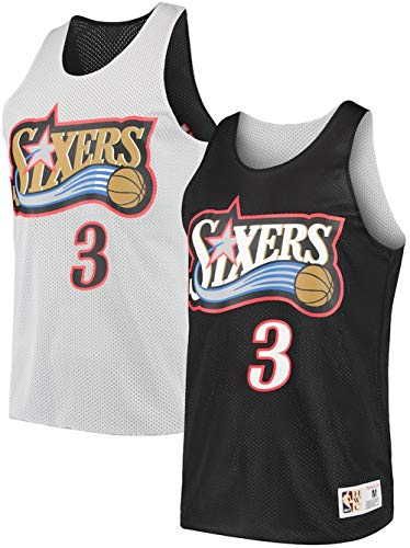 Mitchell & Ness Allen Iverson Philadelphia 76ers Reversible Tank Top (Large)