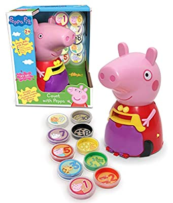 Peppa Pig PP11 Count with Peppa, Multi by Trends UK
