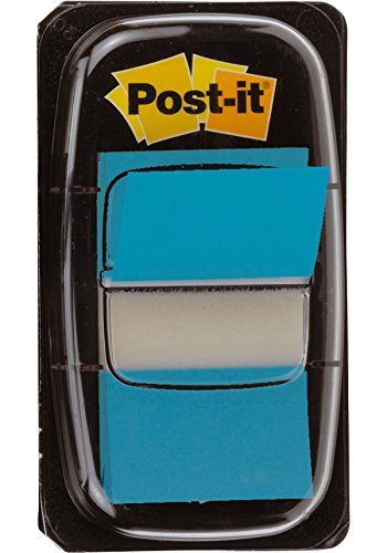 Post-it I680-23 Index 1 Spender mit 50 Haftstreifen (25,4 x 43,2 mm) türkis