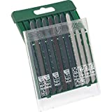 Bosch 2607019461 Set 10 Lame Seghetto Alternativo Legno/Metallo/Plastica, Attacco T