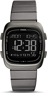 FOSSIL[フォッシル] fs5450 RUTHERFORD グレー ステンレス デジタル メンズ 腕時計 [並行輸入品]