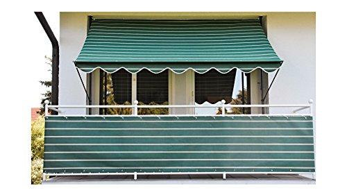 Angerer Klemmmarkise 350 cm, Design Nr. 2300 2303/2300 Markise Grün 150 x 350 x 225 cm