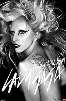 Trends International Lady Gaga - Born This Way Wall Poster 14.725  x 22.375  Premium Unframed Version