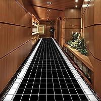 MDCG ホーム エントランス 玄関マット ホール カーペット 寝室 キッチン 廊下 滑り止め フロアマット (Color : A, Size : 120x400cm)