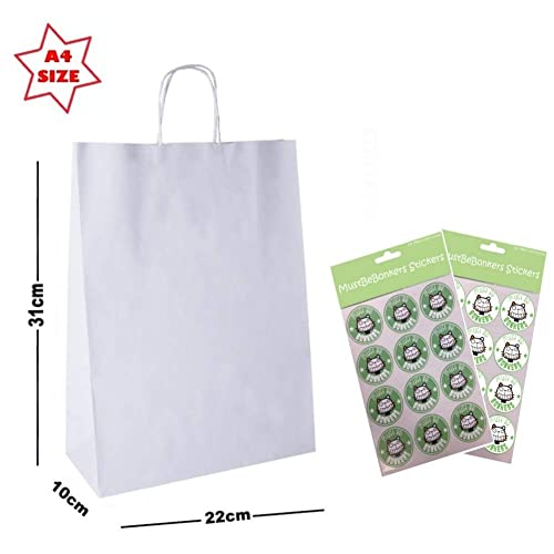 5bf694a39946d White Paper Bags: Amazon.co.uk